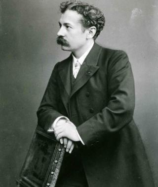 Portrait de René Lalique,